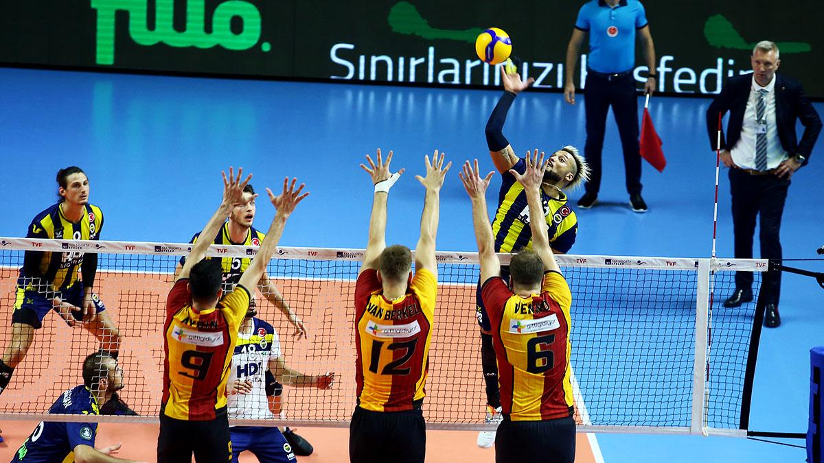 Fenerbahçe HDI Sigorta 0-3 Galatasaray HDI Sigorta