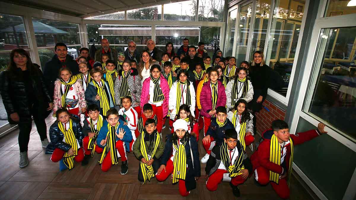 Diyarbakır, Şırnak, Mardin ve İzmir'den gelen çocuklar konuğumuz oldu