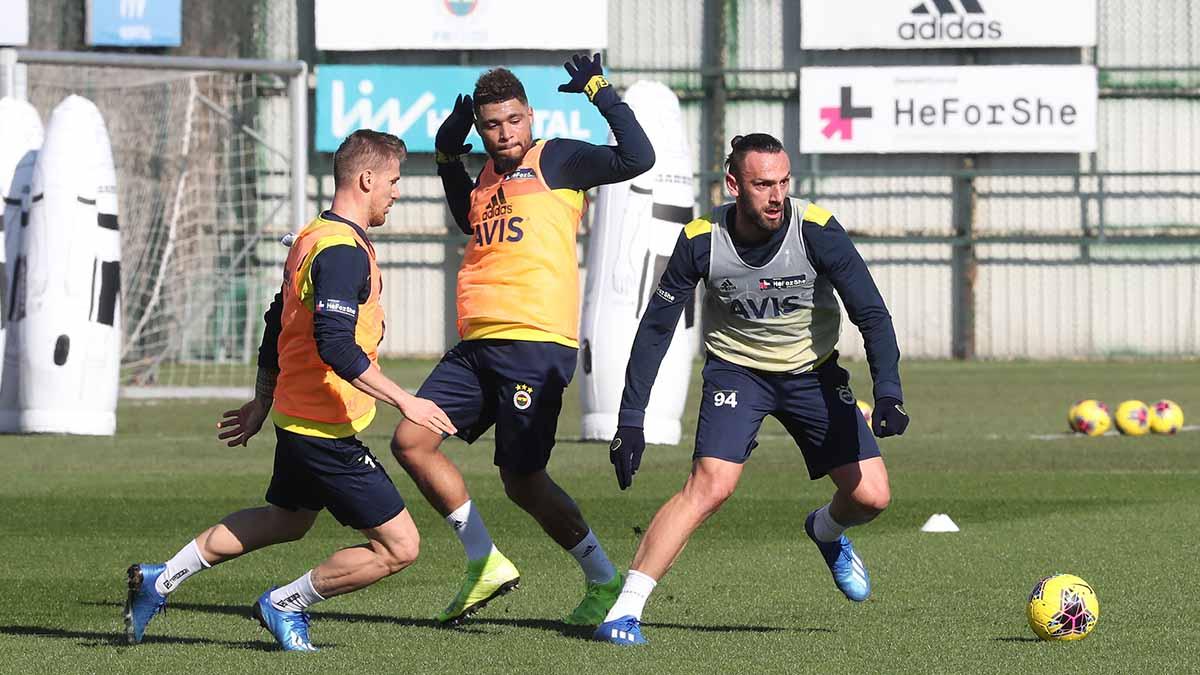 Medipol Başakşehir maçı hazırlıkları başladı