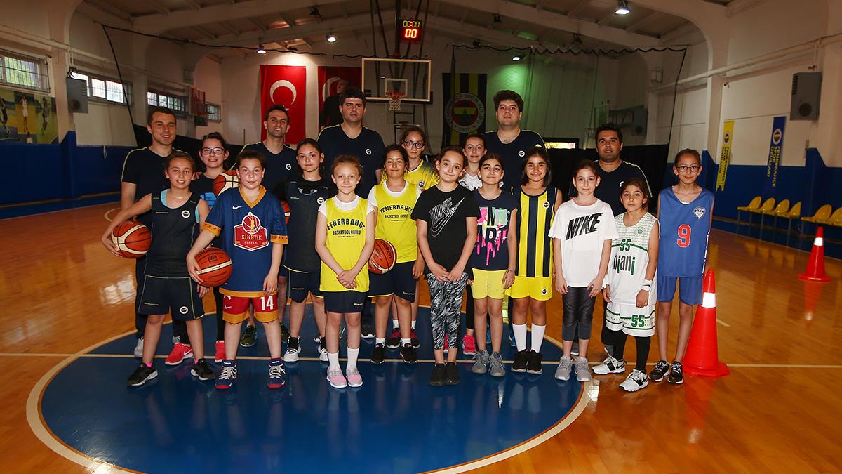 Fenerbahçe Kadın Basketbol altyapı seçmelerinin sonuçları belli oldu