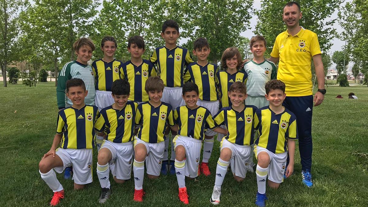 U11 Takımımız Pendik Cup Futbol Turnuvası'nda altın gruba yükseldi