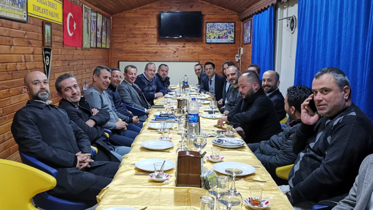 Bolu Milletvekili'nden Bolu Fenerbahçeliler Derneği'ne ziyaret