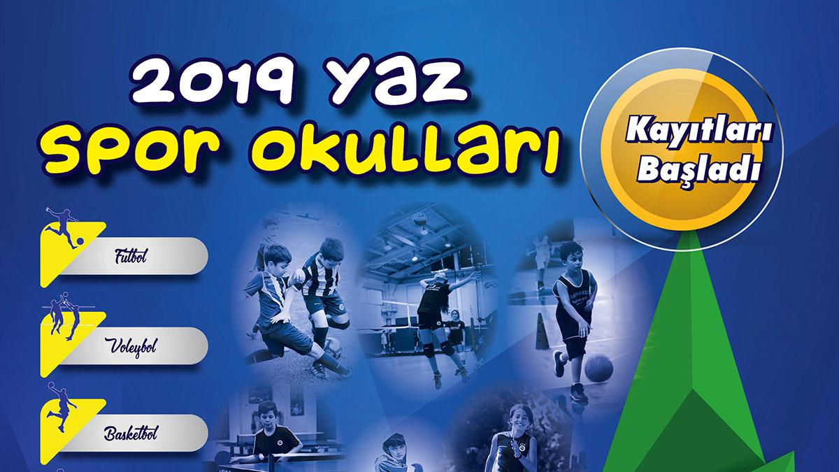 Fenerbahçe Yaz Spor Okulu kayıtları devam ediyor