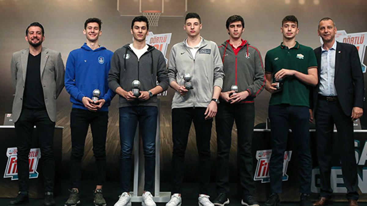 Basketbol Gençler Ligi Dörtlü Final basın toplantısı düzenlendi