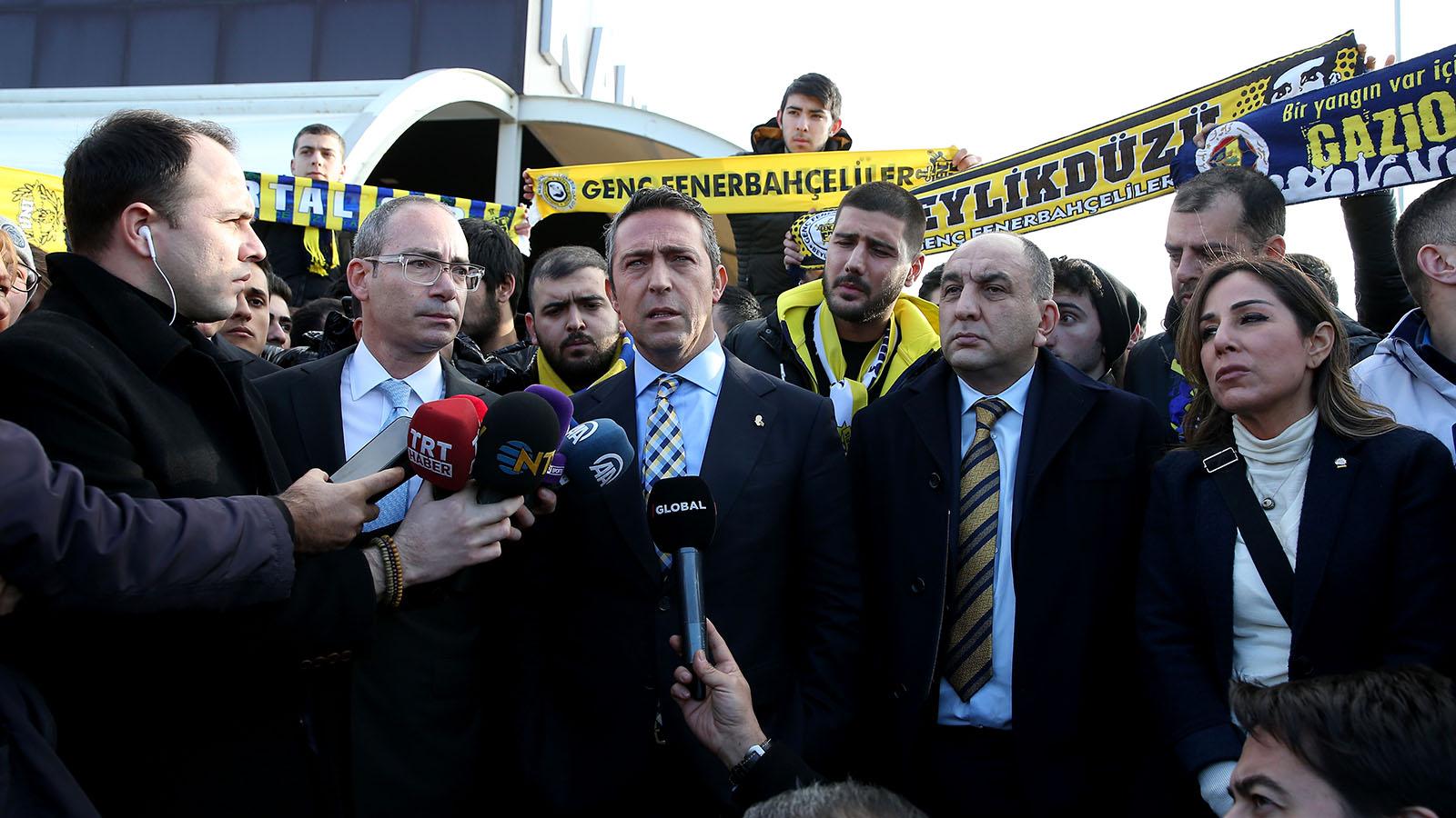 Başkanımız Ali Koç: Bu sadece Fenerbahçe'nin değil; Türkiye'nin davasıdır