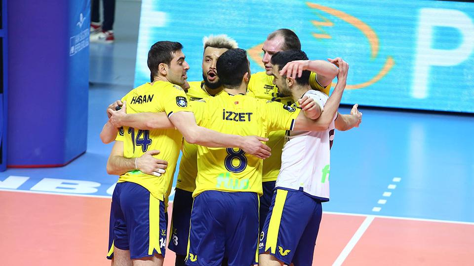 Fenerbahçe HDI Sigorta 3-2 Arkas Spor