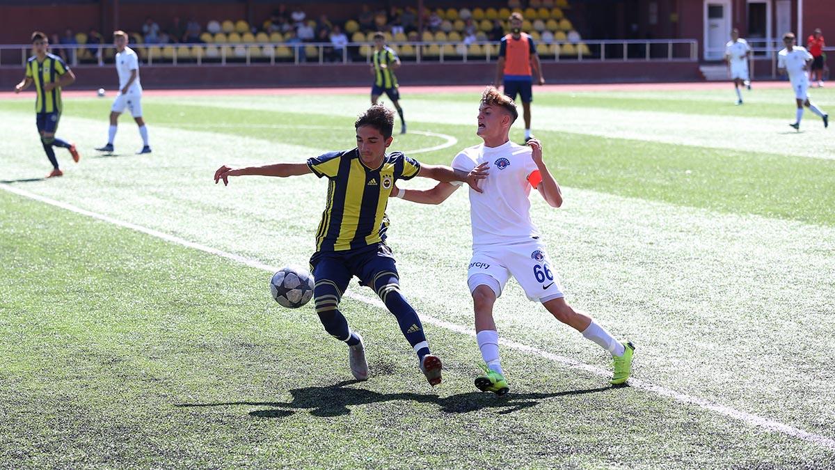Fenerbahçe 2-2 Kasımpaşa (U17 Hazırlık Maçı)