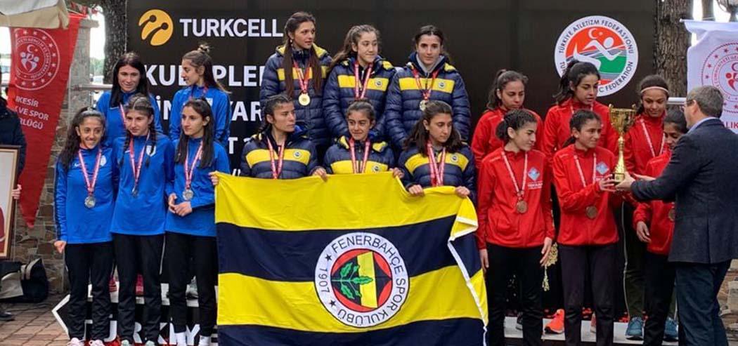Fenerbahçe is the champion in U20 categories in the Cross League!