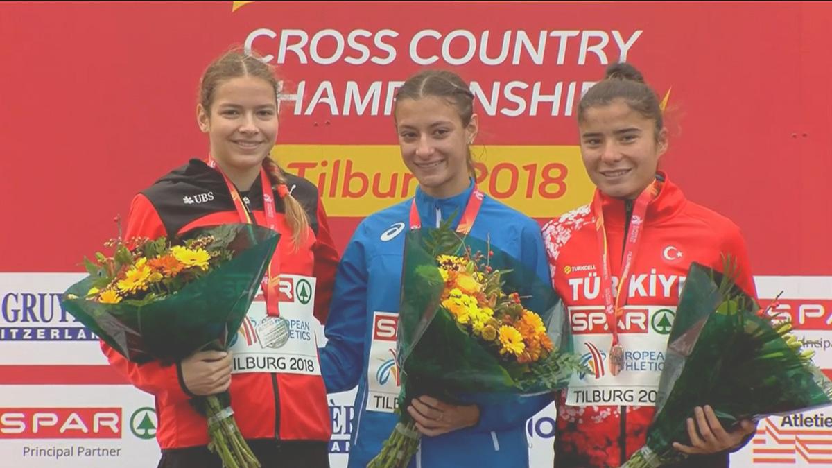 İnci Kalkan'dan Avrupa Kros Şampiyonası'nda bronz madalya