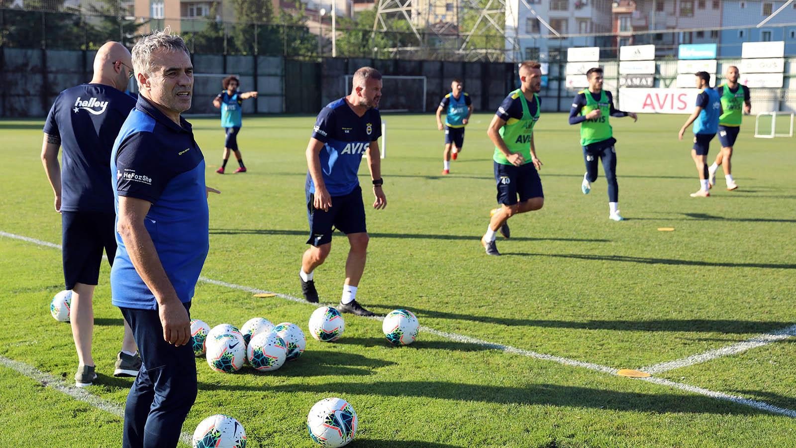 Trabzonspor maçı hazırlıkları devam ediyor