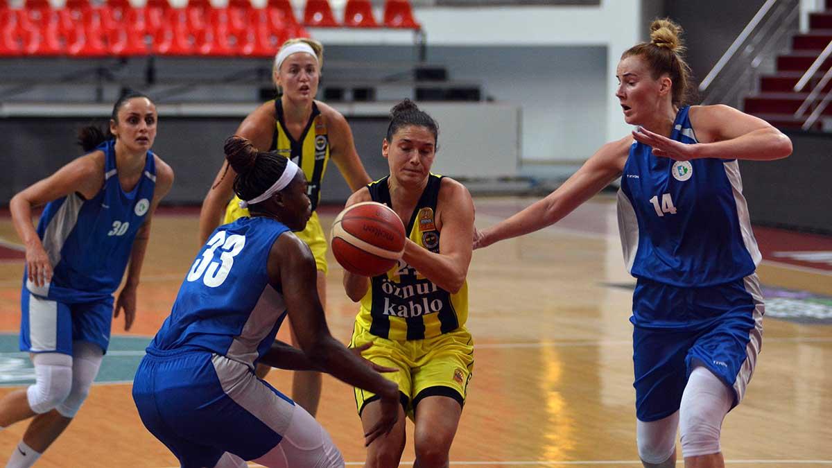 Fenerbahçe Öznur Kablo 76-50 Bellona Kayseri Basketbol (14. Erciyes Cup Basketbol Turnuvası)