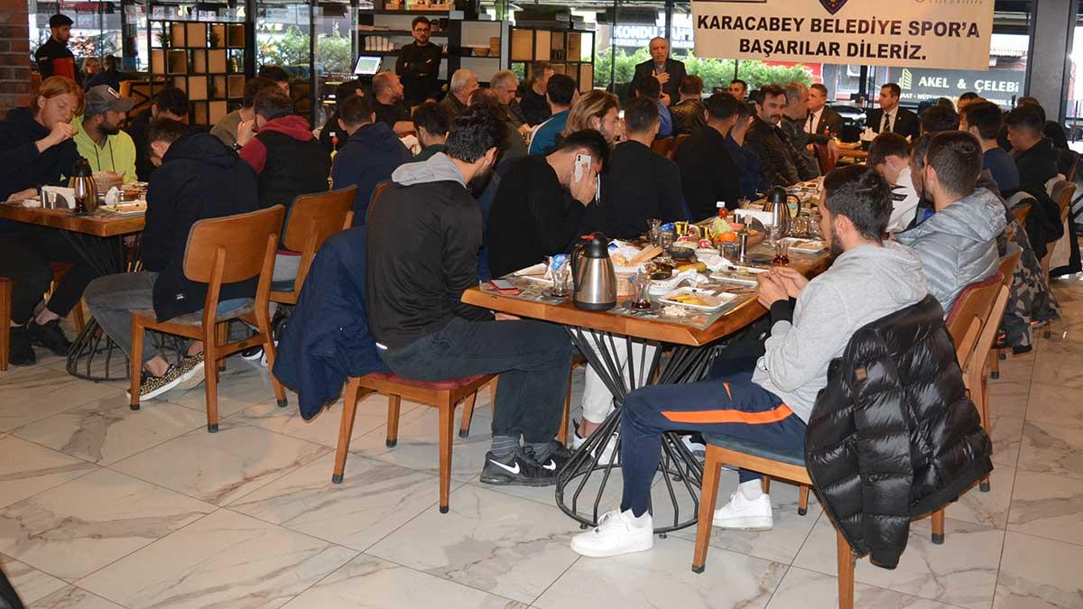 Karacabey Fenerbahçeliler Derneğimizden kahvaltı organizasyonu