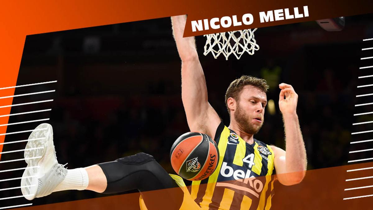Nicolo Melli, EuroLeague'de son 10 yılın en iyileri arasında gösterildi