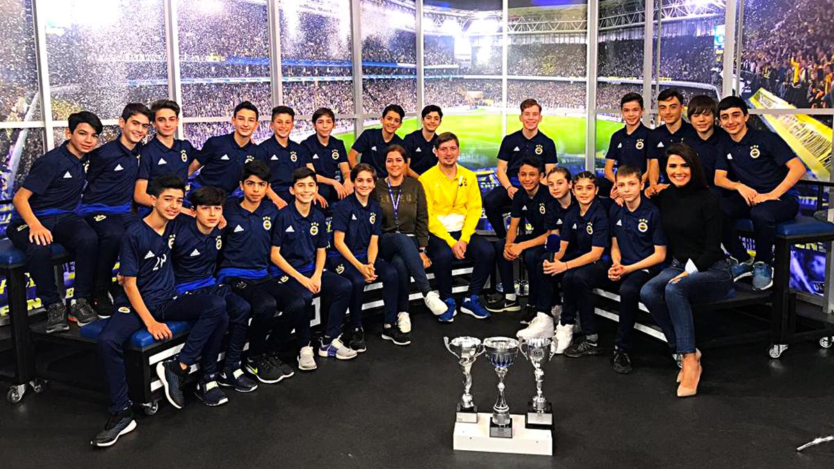 13 Yaş Altı Futbol Takımımız, 14/16 programının konuğu oldu