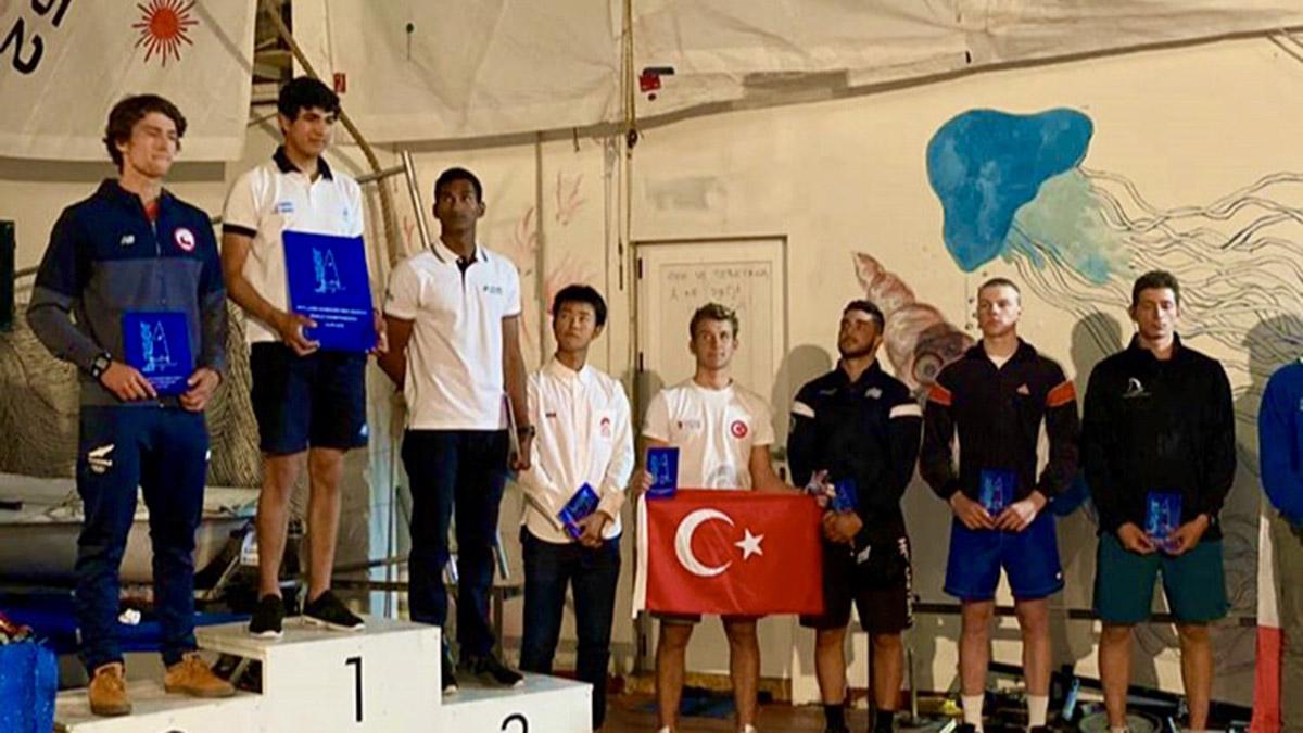 Dünya Şampiyonu Yelkencimiz Yalçın Çıtak'tan U21 Dünya Şampiyonası'nda 5.'lik