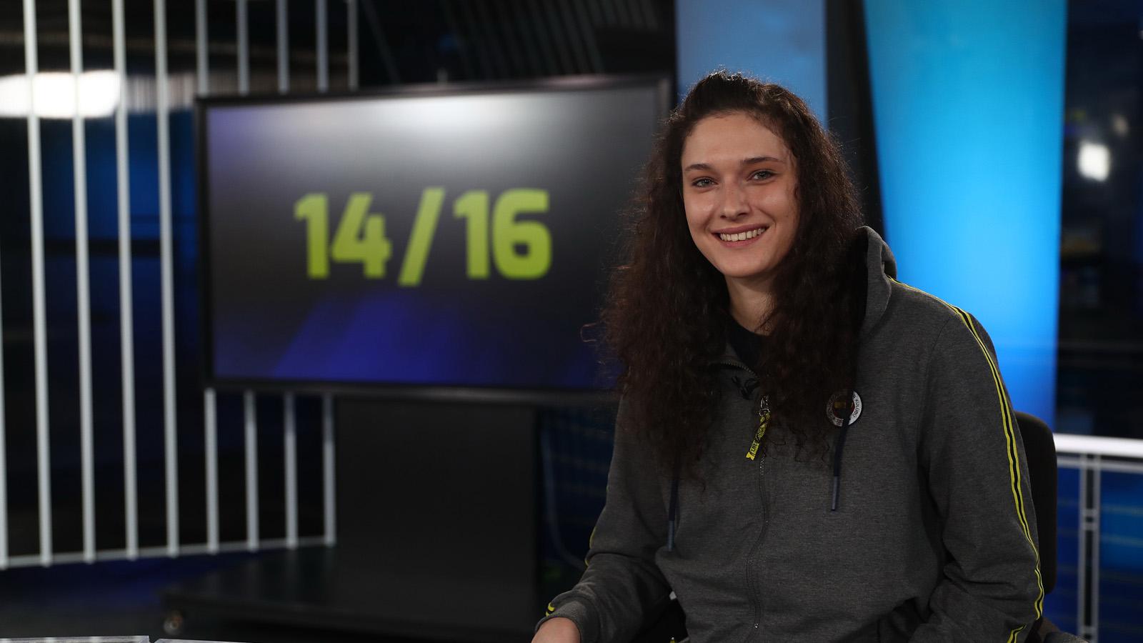 Cecilia Zandalasini 14/16 programına katıldı