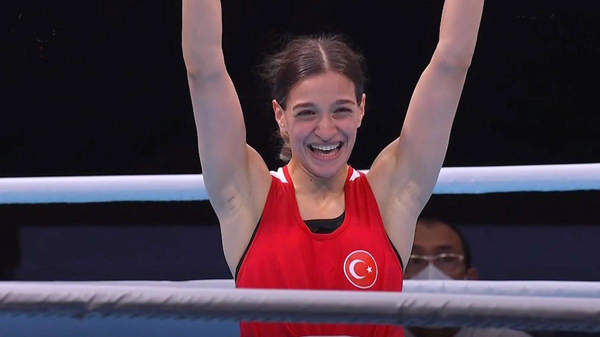 Milli boksörümüz Buse Naz Çakıroğlu: Tek hedefimiz altın madalya