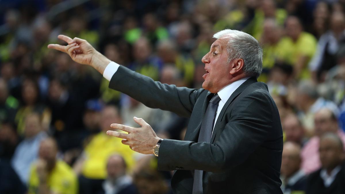 Başantrenörümüz Zeljko Obradovic'in maç sonu değerlendirmesi