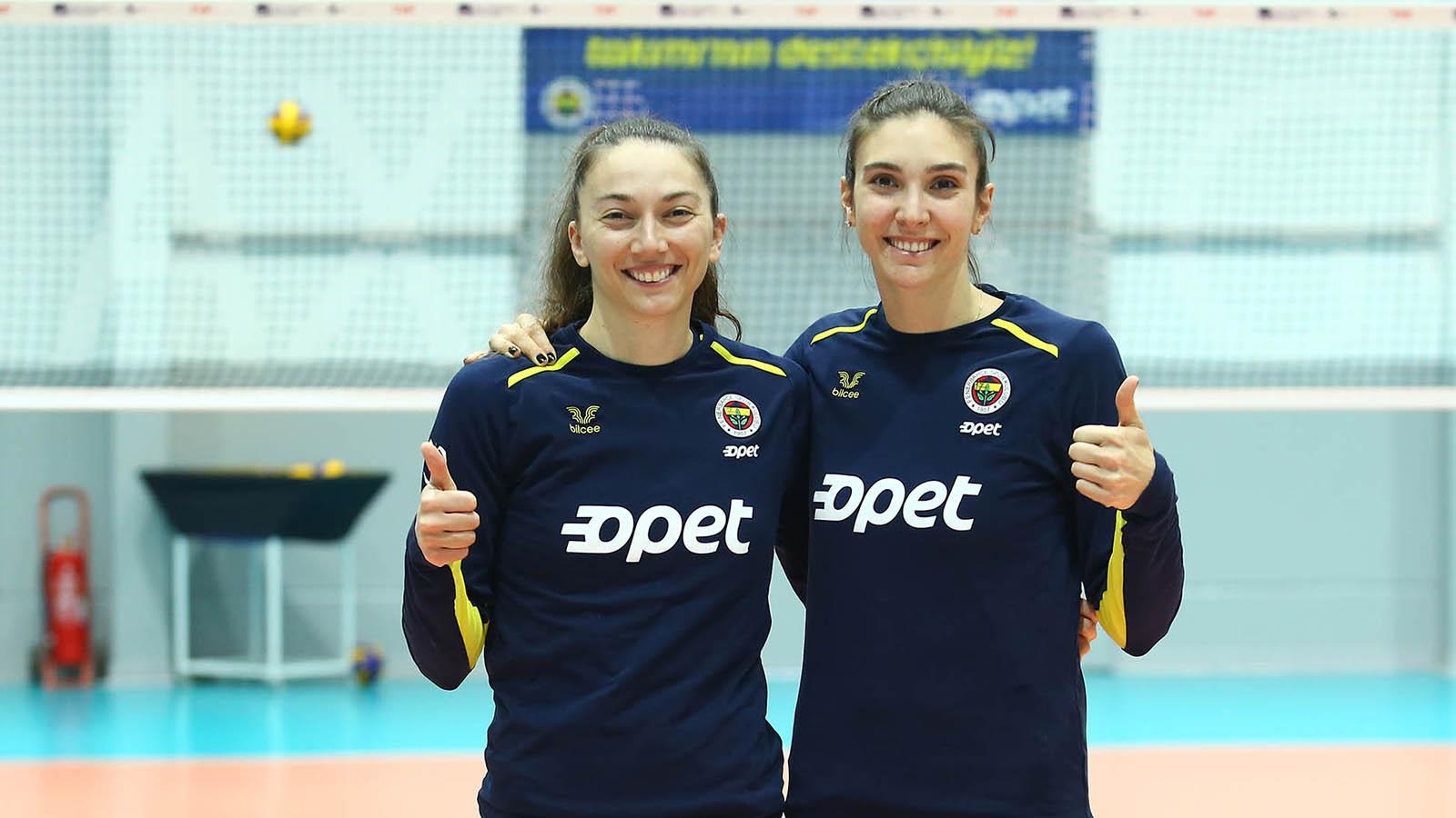 Naz Aydemir Akyol ve Fatma Yıldırım'ın maç önü görüşleri