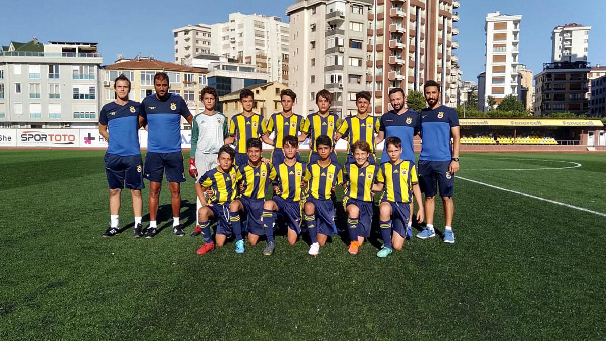 Fenerbahçe 3-0 Çamlıcaspor (U14 Hazırlık Maçı)
