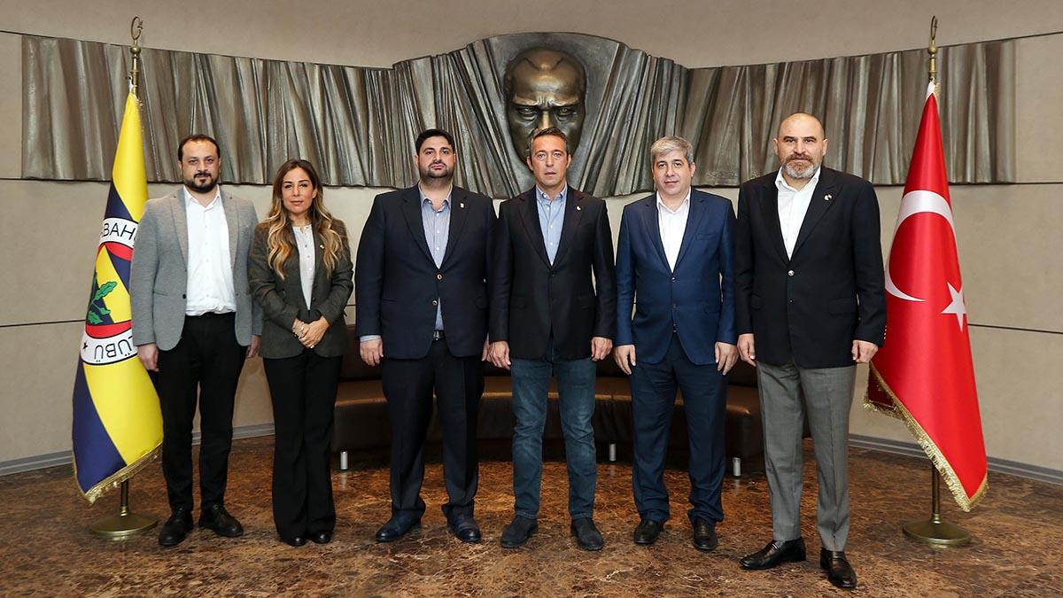 15 Temmuz Derneği'nden Başkanımız Ali Koç'a ziyaret