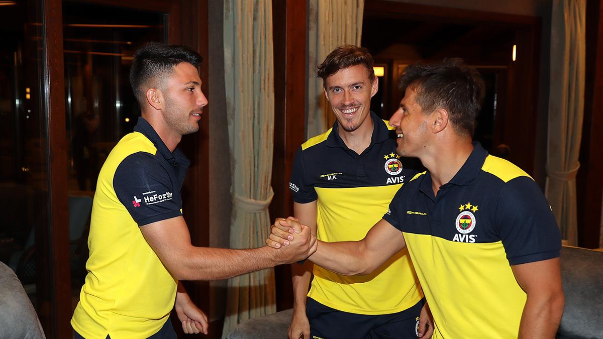 Futbolcumuz Emre Belözoğlu kampa katıldı