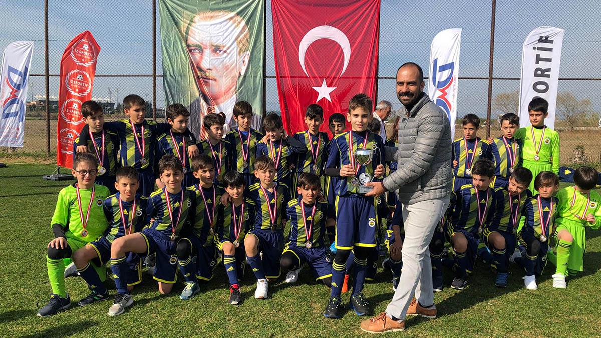 Fenerbahçe U10 Takımımız, Sömestir Cup Turnuvası'nda ikinci oldu