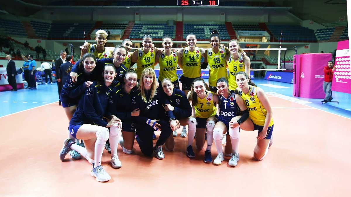 Fenerbahçe Opet 3-1 Aydın Büyükşehir Belediyespor