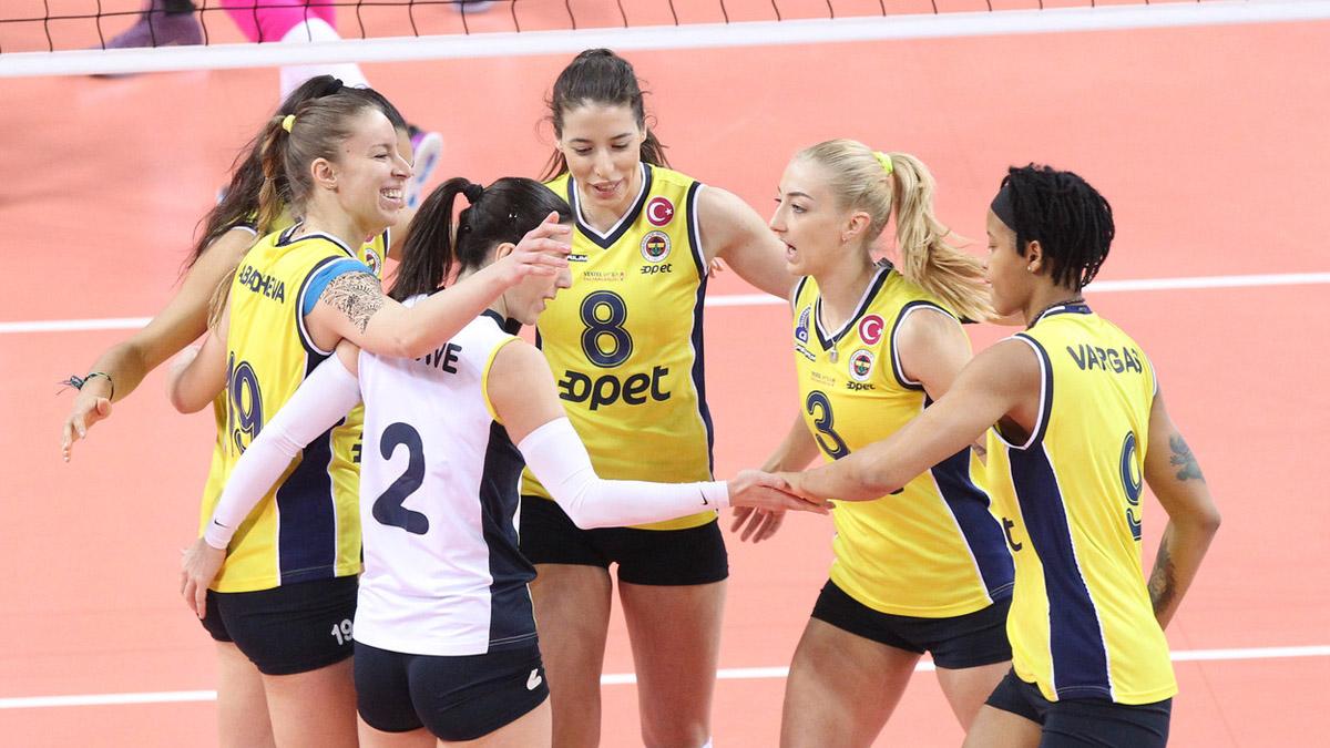 Fenerbahçe Opet, CEV Şampiyonlar Ligi'nde yoluna kayıpsız devam ediyor