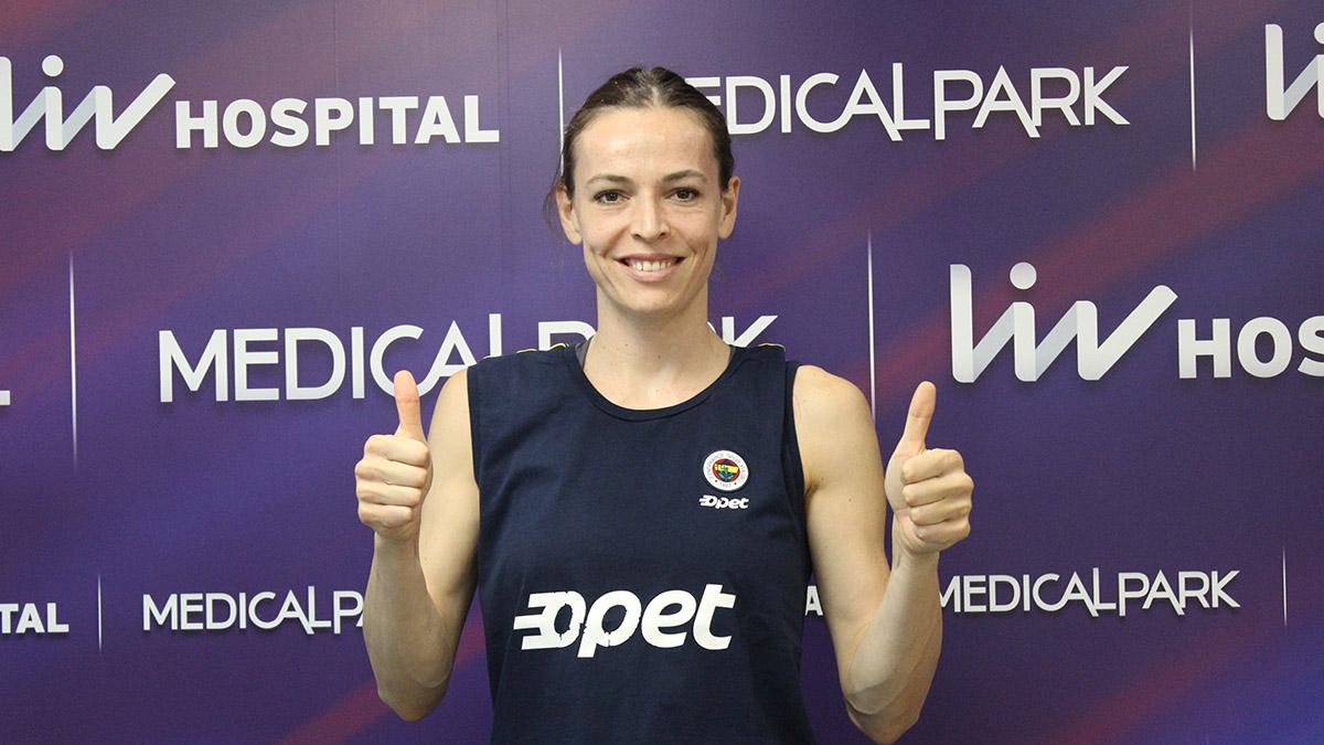 Fenerbahçe Opet Kadın Voleybol Takımımızın oyuncuları sağlık kontrolünden geçti