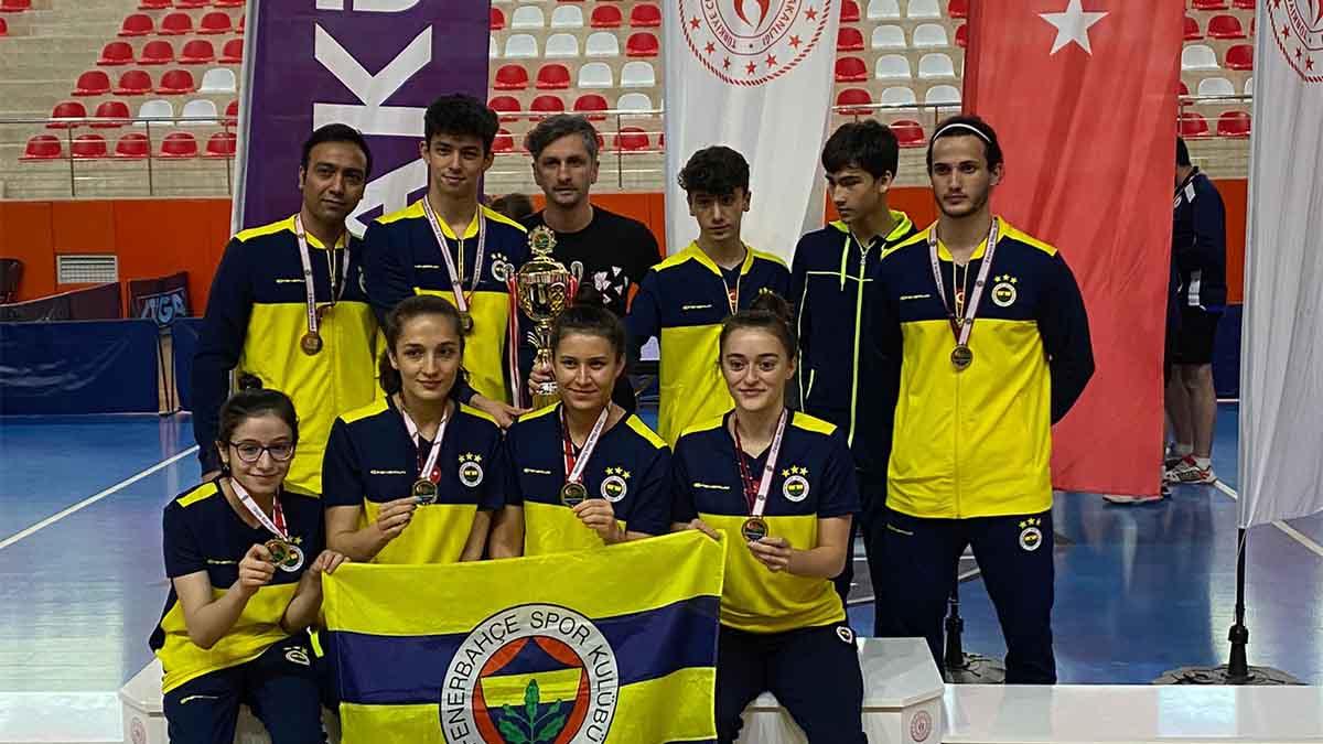 Kadın ve Erkek Masa Tenisi Takımlarımız, Süper Lig'de sezonu namağlup şampiyon tamamladı