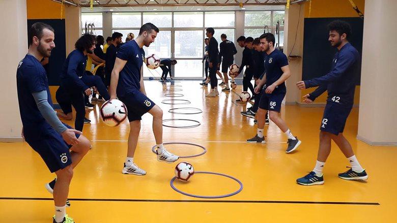 Beşiktaş maçı hazırlıkları sürüyor