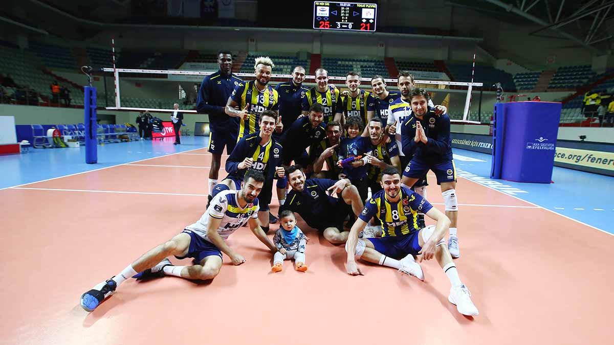 Fenerbahçe HDI Sigorta 3-0 Tokat Belediye Plevne