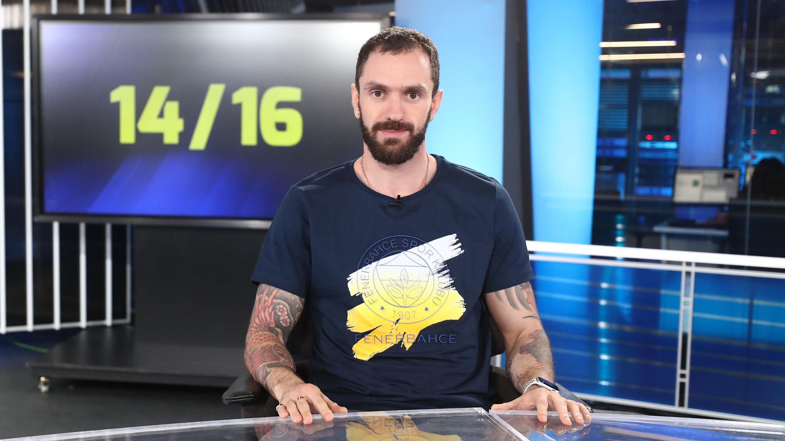 Dünya ve Avrupa Şampiyonu atletimiz Ramil Guliyev, 14/16 programının konuğu oldu