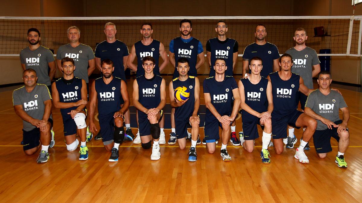 Fenerbahçe HDI Sigorta yeni sezona Topuk Yaylası'nda hazırlanıyor