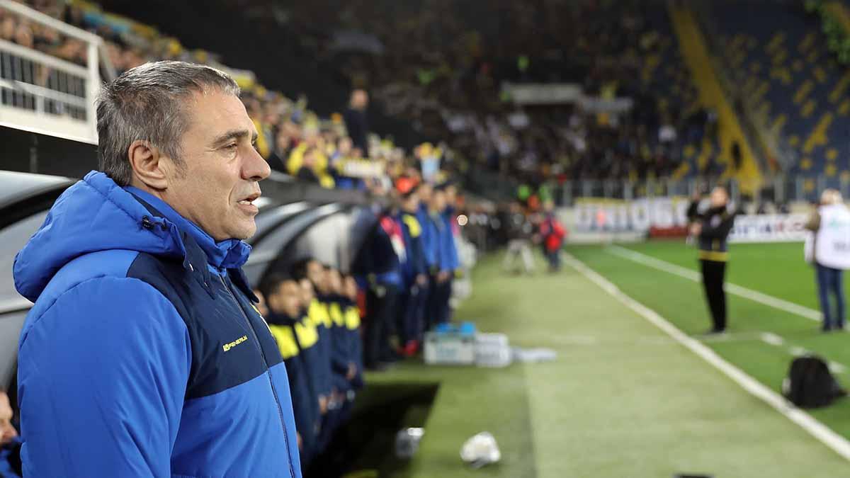 Teknik Direktörümüz Ersun Yanal, MKE Ankaragücü maçını değerlendirdi