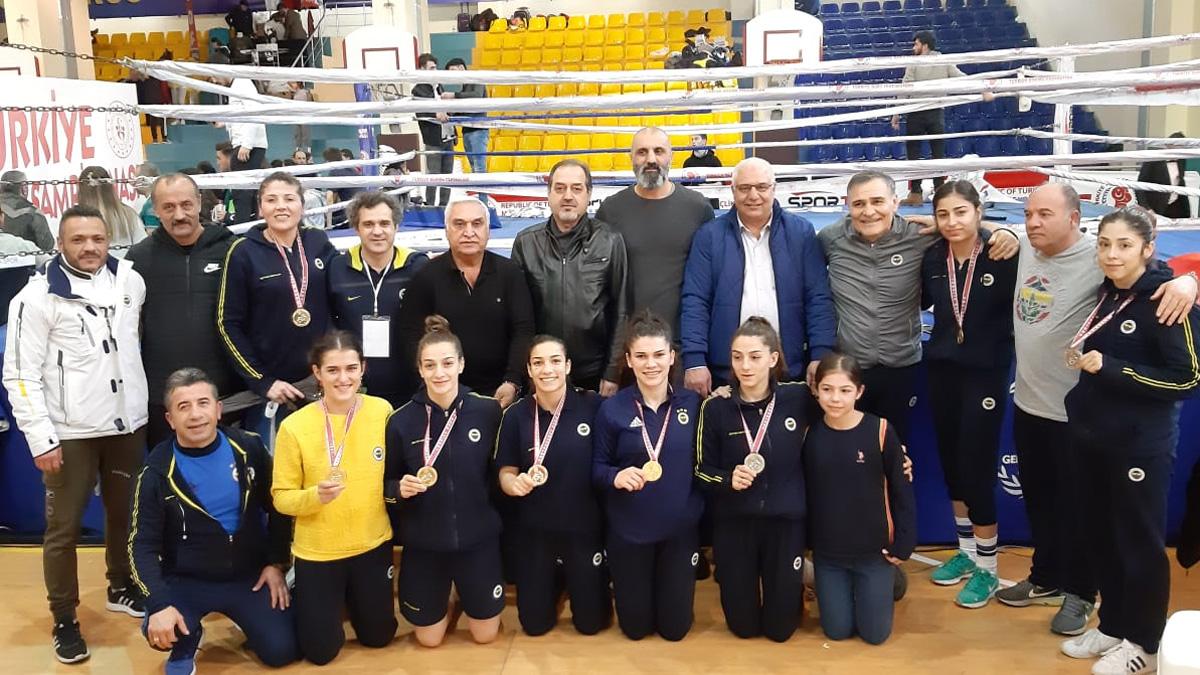 Türkiye Şampiyonası'nı takım halinde birinci tamamladık
