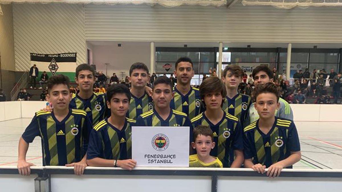 U15 Takımımız U15 Internationaler Eichberg Cup'ta mücadele etti