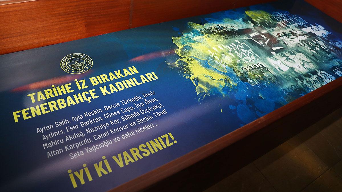 Tarihe İz Bırakan Fenerbahçe Kadınları Fenerbahçe Müzesi'nde Yerini Aldı