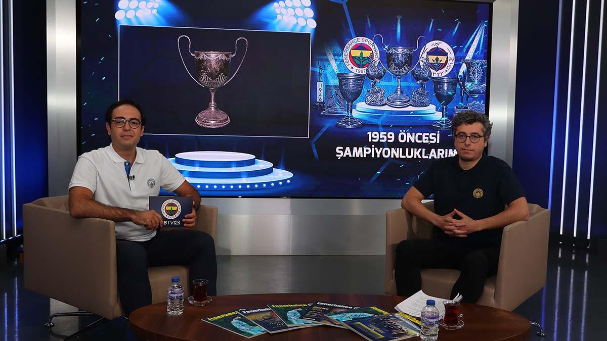 1959 öncesi Türkiye Şampiyonluklarımız FBTV'de detaylarıyla anlatıldı