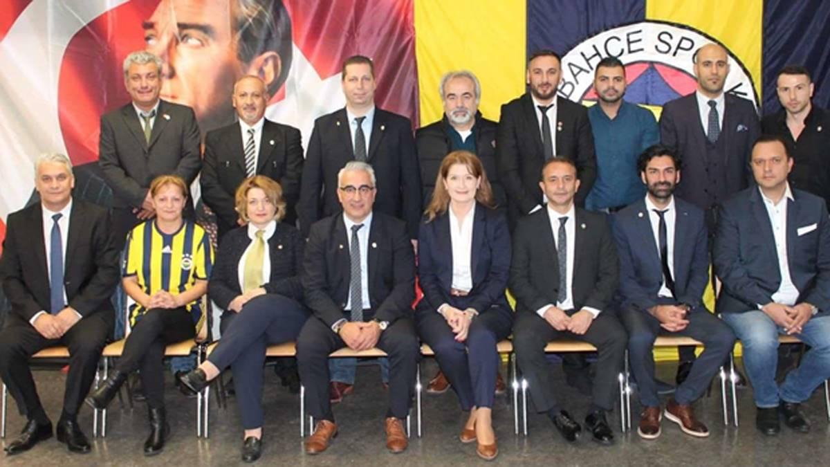 Frankfurt Fenerbahçeliler Derneği'nin genel kurulu gerçekleştirildi