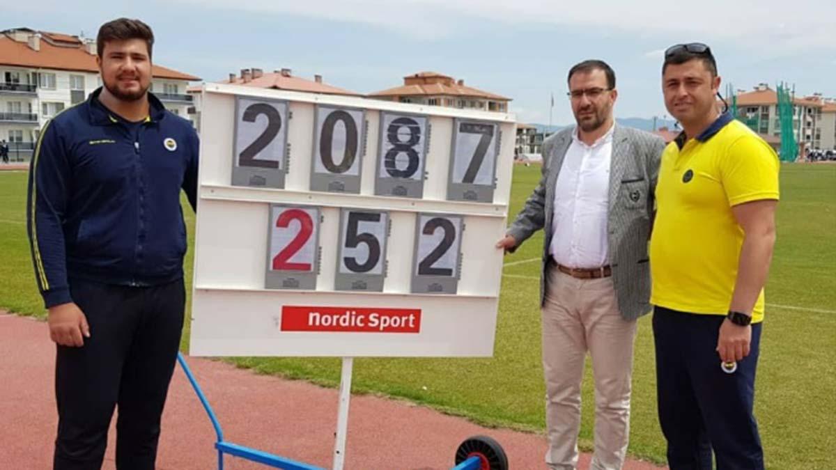 Fenerbahçemiz U20 Atletizm Ligi 1. Kademe yarışlarına damga vurdu
