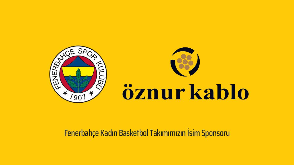 Ailemize Hoş Geldin Öznur Kablo /Kadın Basketbol Takımımızın İsim Sponsoru Öznur Kablo Oldu
