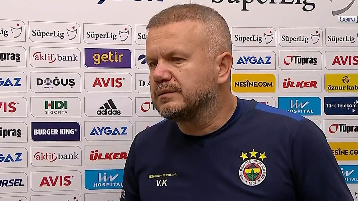Yardımcı Antrenörümüz Volkan Kazak, maç sonu açıklamalarda bulundu
