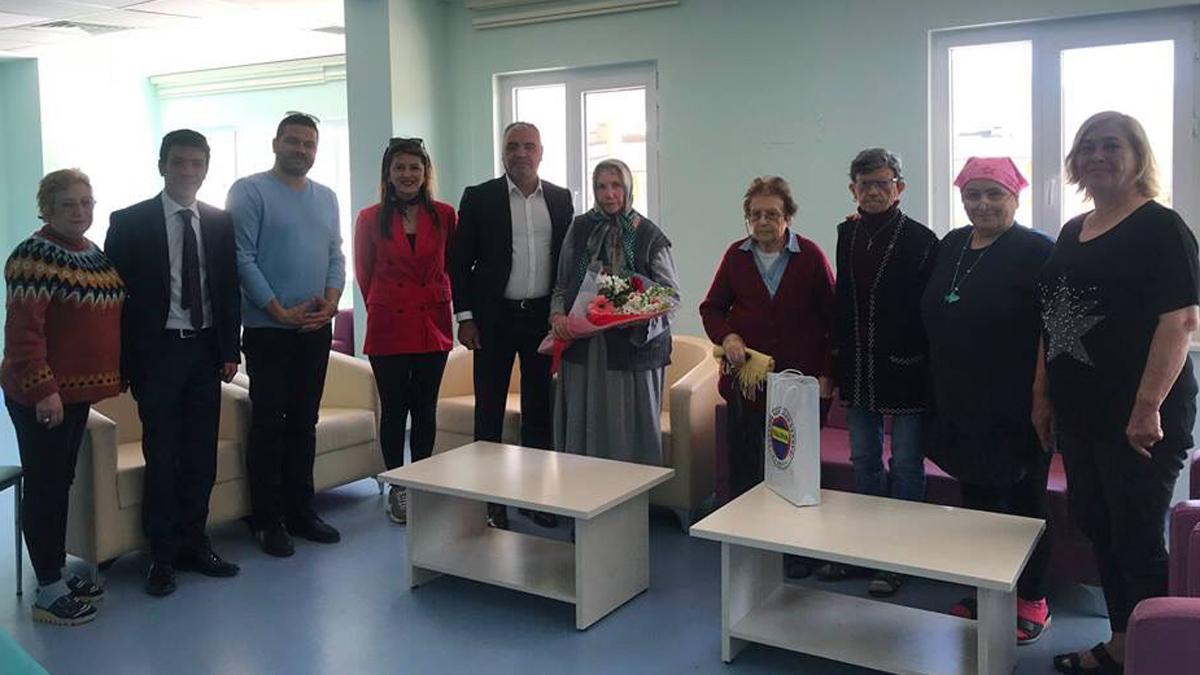 Yalova Fenerbahçeliler Derneğimiz Yaşlılara Saygı Haftasını kutladı