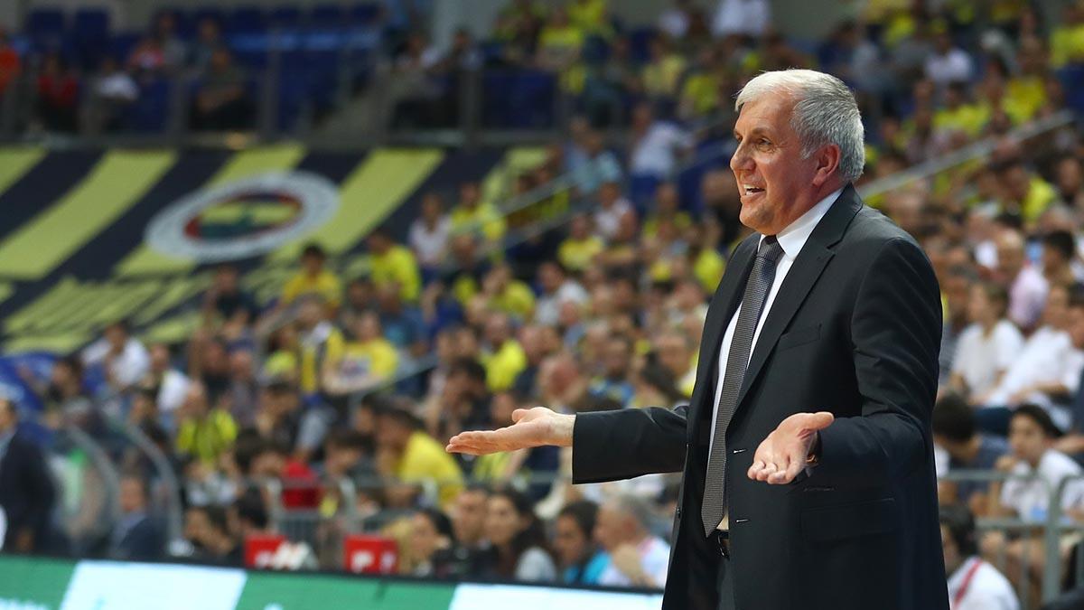 Başantrenörümüz Zeljko Obradovic ve Nicolo Melli'den galibiyet değerlendirmesi