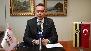 Başkanımız Ali Koç gündeme dair önemli açıklamalarda bulundu