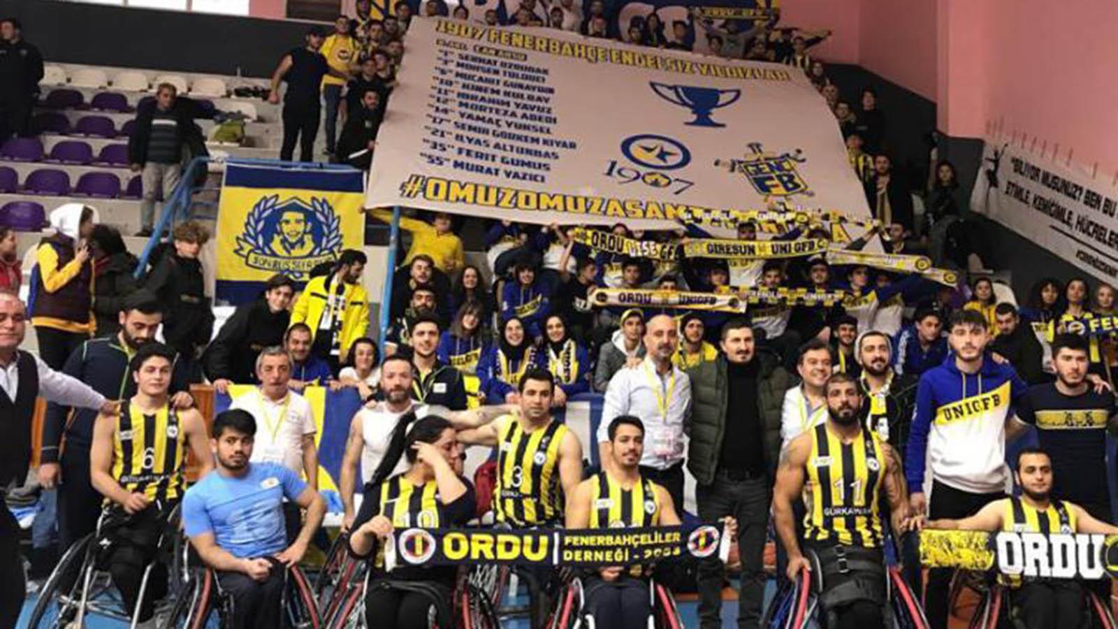 Altınordu Belediyesi Engelliler 57-72 1907 Fenerbahçe Engelli Yıldızlar