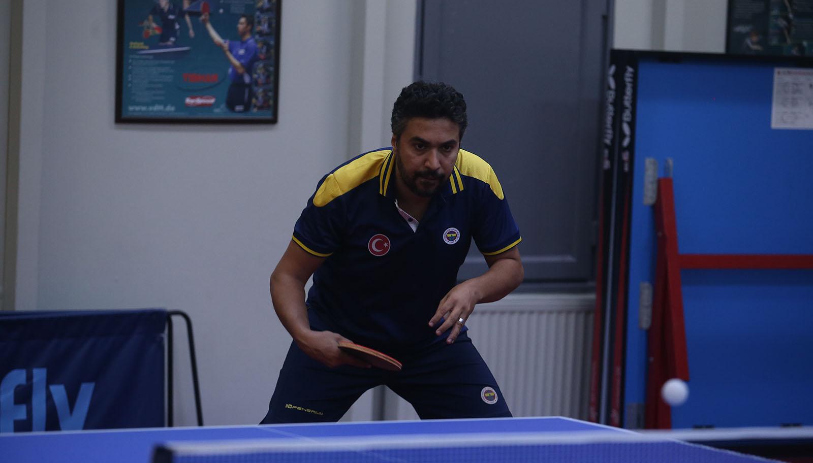 Ahmed Saleh Masa Tenisi Afrika Kupası'nda gümüş madalya kazandı