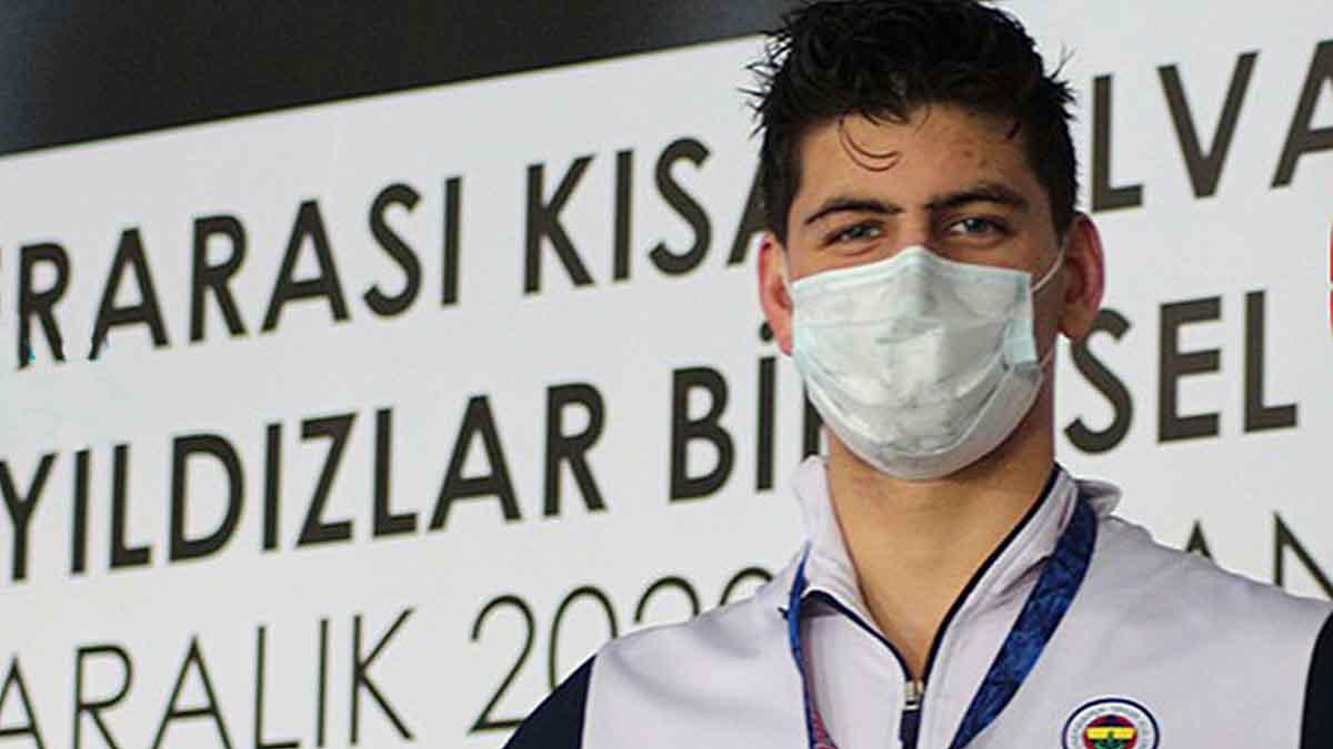 Milli sporcumuz Mert Kılavuz'dan Türkiye rekoru